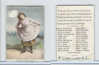 N250 Lorillard, Actresses, 1888, Edith Sinclair (Trim)