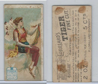 N256 Lorillard, Ancient Mythology Burlesqued, 1893, #1 Penelope