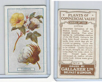 G12-56 Gallaher, Plants Commercial Value, 1917, #11 Cotton