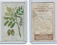 G12-56 Gallaher, Plants Commercial Value, 1917, #27 Liquorice