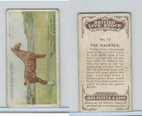 P72-19a Player, British Live Stock - Small, 1915, #12 Hackney Horse
