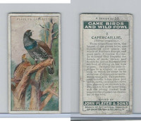 P72-103 Player, Game Birds & Wild Fowl, 1927, #2 Capercaillie