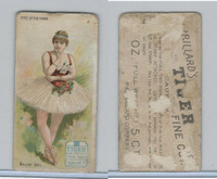 N259 Lorillard, Types of the Stage, 1893, Ballet Girl