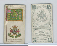 P72-17b Player, Badges & Flags British Reg, 1903, #35 Notts & Derby Reg.