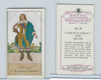 C18-36a Carreras, British Costumes, 1927, #16 Cavalier, 1625-1649