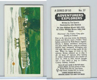 B0-0 Brooke, Adventurers & Explorers, 1973, #37 Sir John William Alcock