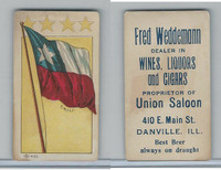 H627 Weddemann, National Flags, 1898, Chili