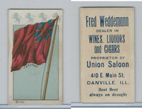 H627 Weddemann, National Flags, 1898, England