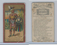 N303 Mayo, Costumes of Warriors & Soldiers, 1892, Mexican Chief, 15th