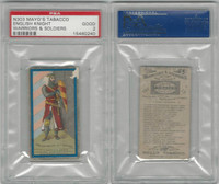 N303 Mayo, Costumes of Warriors & Soldiers, 1892, English Knight, PSA 2