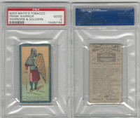 N303 Mayo, Costumes of Warriors & Soldiers, 1892, Frank Warrior, 7th, PSA 2 Good