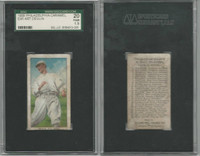 E95 Philadelphia Caramel Baseball, 1909, Art Devlin, New York, SGC 20 Fair