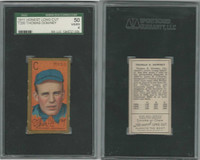 T205 ATC Baseball, 1911, Thomas Downey, Reds, SGC 50 VGEX Honest LC