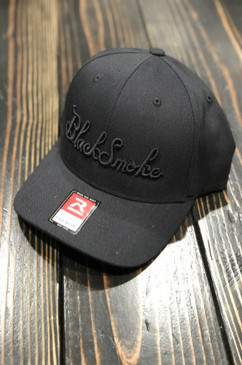 Burnt Out 3D Black Smoke Flexfit