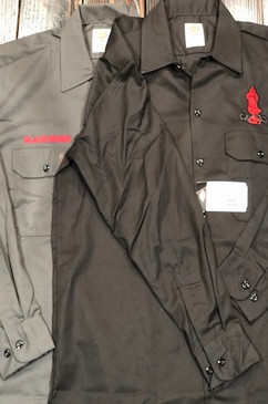 Dickies Black Smoke Work Shirt