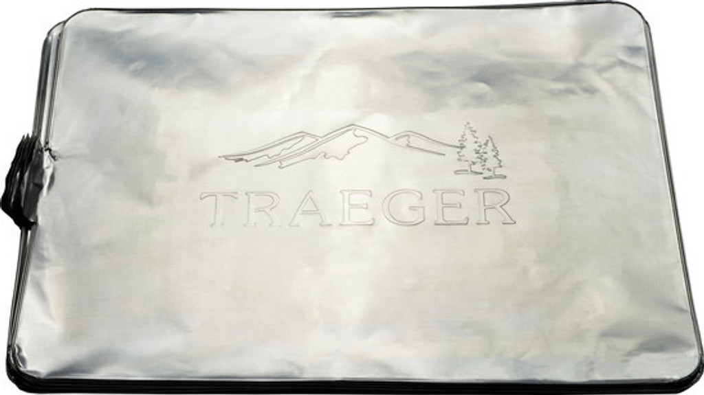 TRAEGER  PELLET GRILL BAC410 DRIP TRAY LINER 34 & 1300 SERIES GRILLS - 5  PACK COMING SPRING 2017