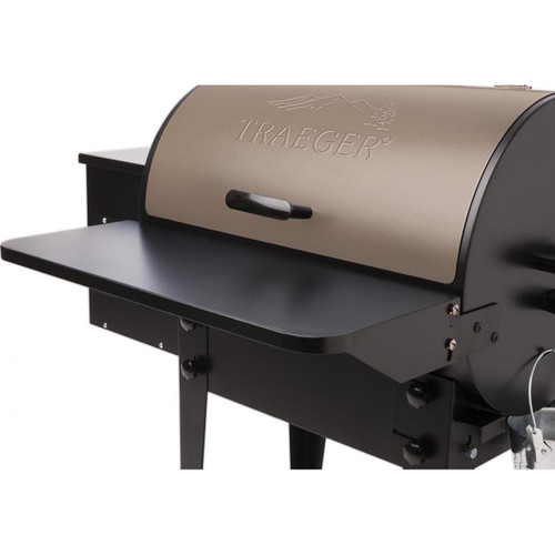 TRAEGER PELLET GRILL BAC361 FOLDING FRONT SHELF - BRONSON & 20 series