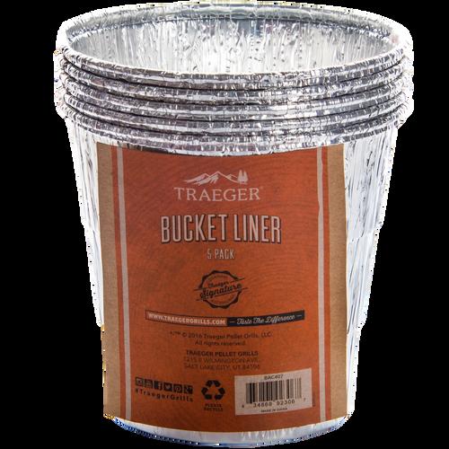 TRAEGER PELLET GRILL BAC407 BUCKET LINER - 5 PACK COMING SPRING 2017