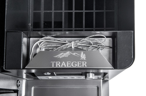 MEAT PROBE STORAGE COMPARTMENT