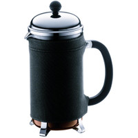 Bodum Nero Coffee Coat for Chambord Coffee Maker, Black