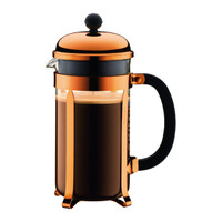 Bodum Chambord Coffee Maker 8 Cups 1.0L in Copper