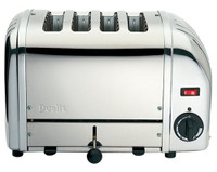 Dualit 4 Slot NewGen Toaster 47180 Polished Stainless Steel