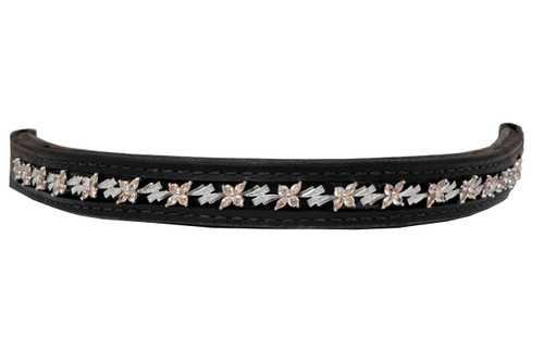 Browband Flower Champagne Design