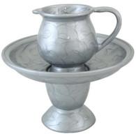 Mayim Acharonim Set, Elegant, Silver