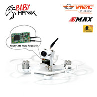 EMAX Babyhawk FPV Racer Quad-Copter BNF w/ Frsky Receiver XM+