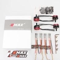 EMAX Power Combo - 4 RS2205 2300KV RaceSpec Brushless Motor With 4 30A BLHeli Lightning ESC