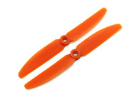 Gemfan Propeller Glass-Fiber Nylon 5030(5x3) Orange (CW/CCW) (2 pairs)