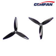 Gemfan Propeller  - Flash 5152 Tri-Blade 2 pairs(2CW+2CCW) Black