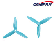 Gemfan Propeller  - Flash 5152 Tri-Blade 2 pairs(2CW+2CCW) Blue