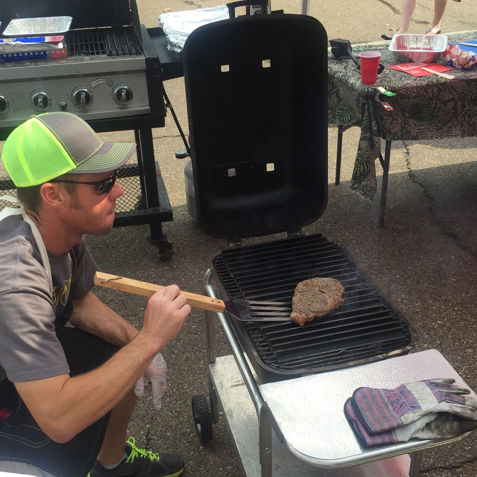 how to cook a competition winning steak pk grills