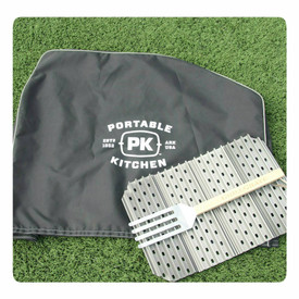 The PK Grills Fall Essentials.  A PK Cover and a set of custom PK GrillGrates.
