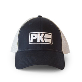 PK Logo Hat White/Navy/Grey