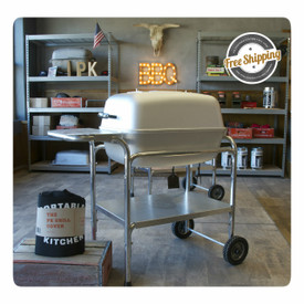 The PK Grill & Smoker 2015 Bundle includes a PK Grill and a PK Cover.