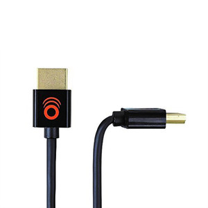 Gold plated HDMI connectors.