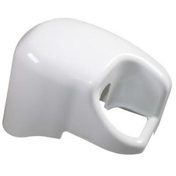Fiamma F45iL Right Hand Outer End Cap - Polar White (04381-01A)