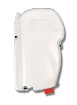 Fiamma F45S Awning Left Hand End Cover Cap White (98655-539)