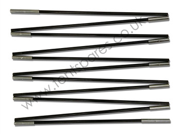 Gelert Beyond Meridian 10 Black Fibreglass Main Pole