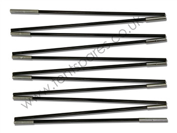 Gelert Stratus 4 Black Coded Fibreglass Main Pole 2010 Onwards