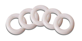 Universal 18mm White Inner Tent & Tri-Guy 'O' Rings (Pack of 4)