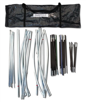 Royal Hampton 4, Complete Set of Tent Poles with Carry Bag SP01681