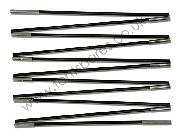 Hi Gear Mojave 5 Black Coded Fibreglass Main Pole