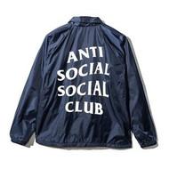 Anti Social Social Club NAVY COACH JACKET
