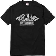 Supreme Rap A Lot Records Tee Black