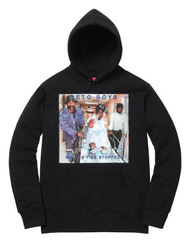 Supreme Rap A Lot Geto Boys Hooded Sweatshirt Black