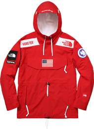 Supreme North Face Goretex Trans Antartica Expedition Pullover Red