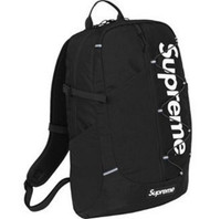 Supreme Backpack Black Cordura 20L